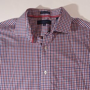 Tommy Hilfiger red, white and blue shirt